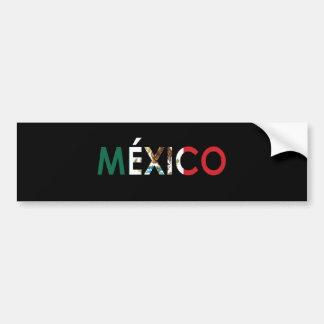 Pegatina para el parachoques de México Pegatina Para Auto