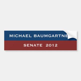 Pegatina para el parachoques de Michael Baumgartne Pegatina Para Auto