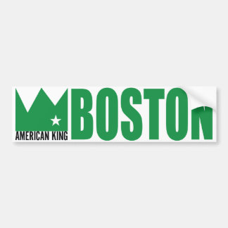 Pegatina para el parachoques de MIMS - rey america Etiqueta De Parachoque