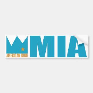 Pegatina para el parachoques de MIMS - rey america Pegatina Para Auto