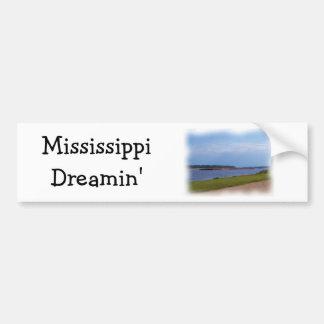 Pegatina para el parachoques de Mississippi Pegatina Para Auto