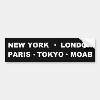 Pegatina para el parachoques de Moab Pegatina Para Auto