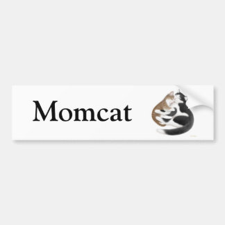 Pegatina para el parachoques de Momcat Etiqueta De Parachoque