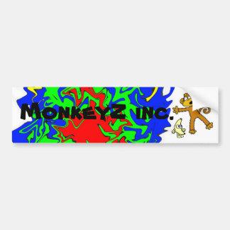 Pegatina para el parachoques de MonkeyZ inc. Pegatina Para Auto