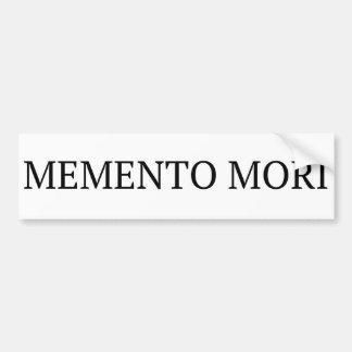 Pegatina para el parachoques de Mori del recuerdo Pegatina Para Auto