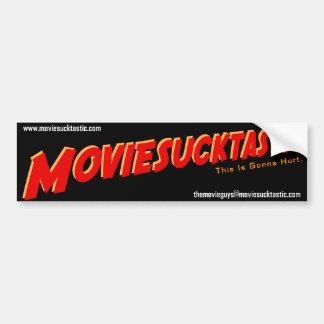 Pegatina para el parachoques de Moviesucktastic Pegatina Para Auto