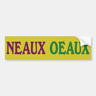 Pegatina para el parachoques de Neaux Oeaux Anti-O Pegatina Para Auto