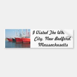 Pegatina para el parachoques de New Bedford Massac Etiqueta De Parachoque