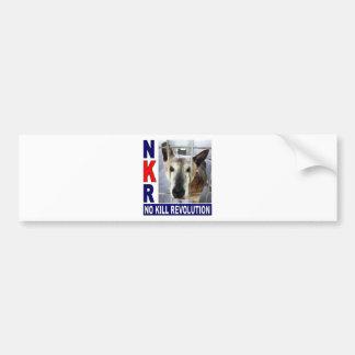 Pegatina para el parachoques de NKR Etiqueta De Parachoque