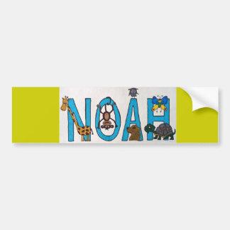 Pegatina para el parachoques de NOAH Pegatina Para Auto