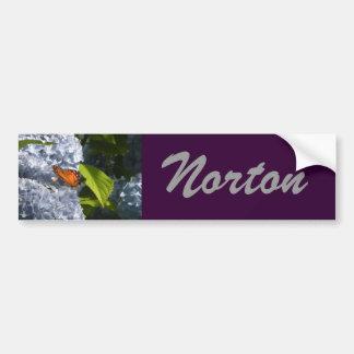 Pegatina para el parachoques de Norton Pegatina Para Auto