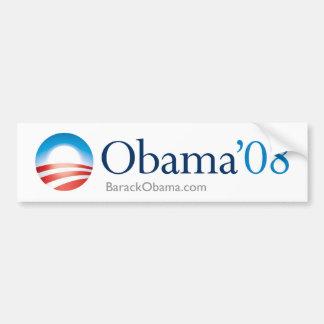 Pegatina para el parachoques de Obama 08 Pegatina Para Auto