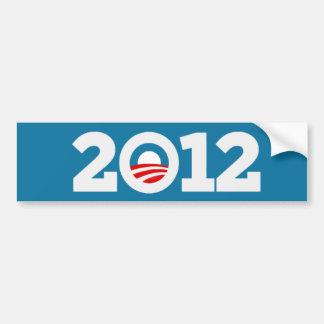 Pegatina para el parachoques de Obama 12 Etiqueta De Parachoque
