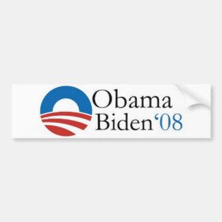 Pegatina para el parachoques de Obama Biden '08 Pegatina Para Auto
