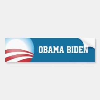 Pegatina para el parachoques de Obama Biden Pegatina De Parachoque