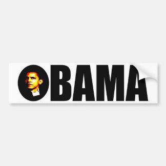 Pegatina para el parachoques de Obama Etiqueta De Parachoque
