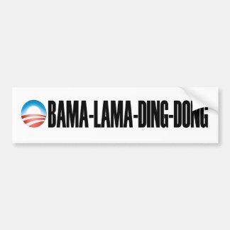 pegatina para el parachoques de obama-lama-tilín-D Etiqueta De Parachoque