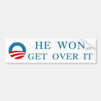 Pegatina para el parachoques de Obama Pegatina Para Auto