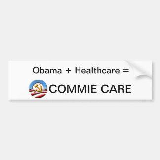 Pegatina para el parachoques de Obamacare Pegatina Para Auto