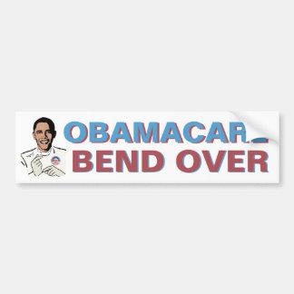 Pegatina para el parachoques de Obamacare Pegatina De Parachoque