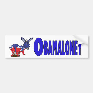 Pegatina para el parachoques de Obamaloney Pegatina Para Auto
