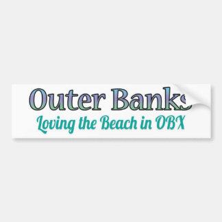 Pegatina para el parachoques de OBX - amor de la p Pegatina Para Auto