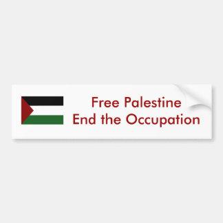 Pegatina para el parachoques de Palestina Pegatina Para Auto