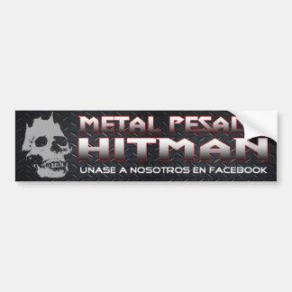 Pegatina para el parachoques de Pesado del metal Etiqueta De Parachoque