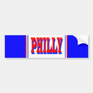 Pegatina para el parachoques de Philly Pegatina Para Auto