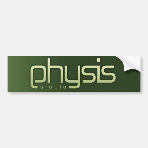 Pegatina para el parachoques de Physis Etiqueta De Parachoque