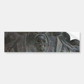 Pegatina para el parachoques de piedra de mármol n etiqueta de parachoque