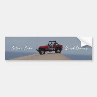 Pegatina para el parachoques de plata de las dunas pegatina para auto
