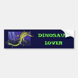 Pegatina para el parachoques de Plesiosaur Etiqueta De Parachoque