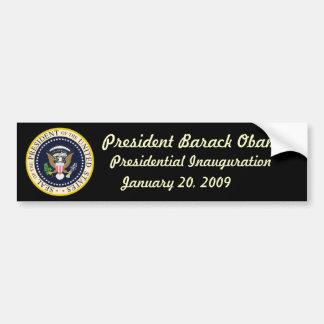 Pegatina para el parachoques de presidente Obama I Pegatina Para Auto