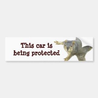 Pegatina para el parachoques de Protected_ Pegatina Para Auto