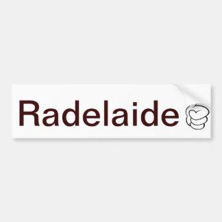 Pegatina para el parachoques de Radelaide Adelaide Pegatina Para Auto