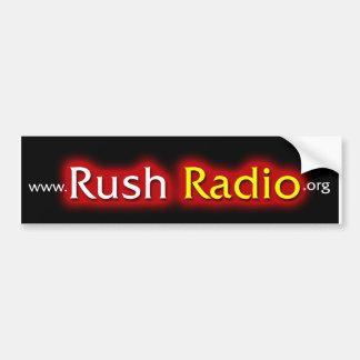 Pegatina para el parachoques de radio de la precip pegatina para auto
