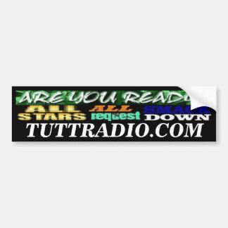 Pegatina para el parachoques de radio de Tutt Alls Pegatina Para Auto