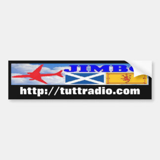 Pegatina para el parachoques de radio de Tutt Jimb Pegatina Para Auto