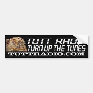 Pegatina para el parachoques de radio de Tutt Pegatina Para Auto