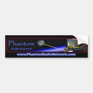 Pegatina para el parachoques de radio fantasma pegatina para auto