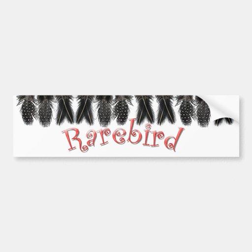 Pegatina para el parachoques de Rarebird Pegatina De Parachoque