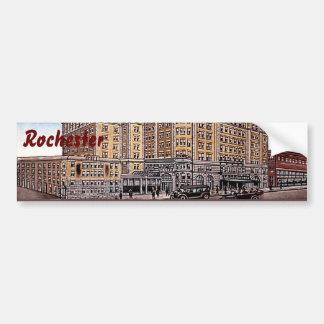 Pegatina para el parachoques de Rochester NY del S Pegatina Para Auto