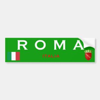 Pegatina para el parachoques de Roma