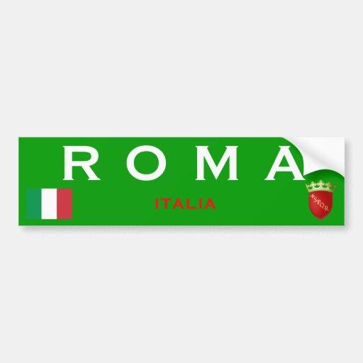 Pegatina para el parachoques de Roma* Pegatina Para Auto
