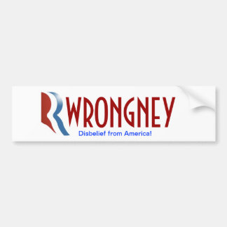 ¡Pegatina para el parachoques de Romney - no lo ha Pegatina Para Auto