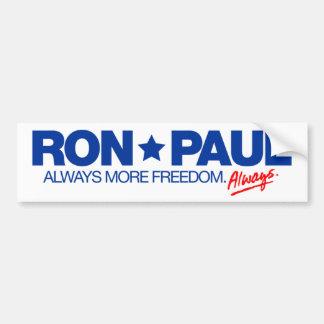 Pegatina para el parachoques de Ron Paul Pegatina Para Auto