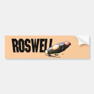 Pegatina para el parachoques de Roswell Pegatina Para Auto