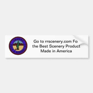 pegatina para el parachoques de rrscenery.com pegatina para auto
