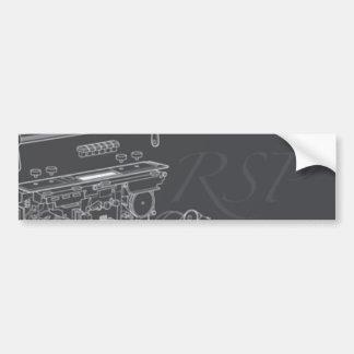 Pegatina para el parachoques de RSP Pegatina Para Auto